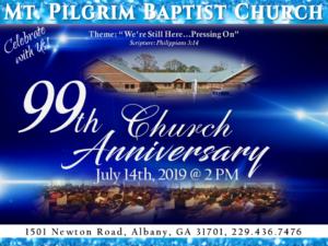 99th Church Anniversary